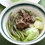 Rainy Day, Steamy Beef Nilaga