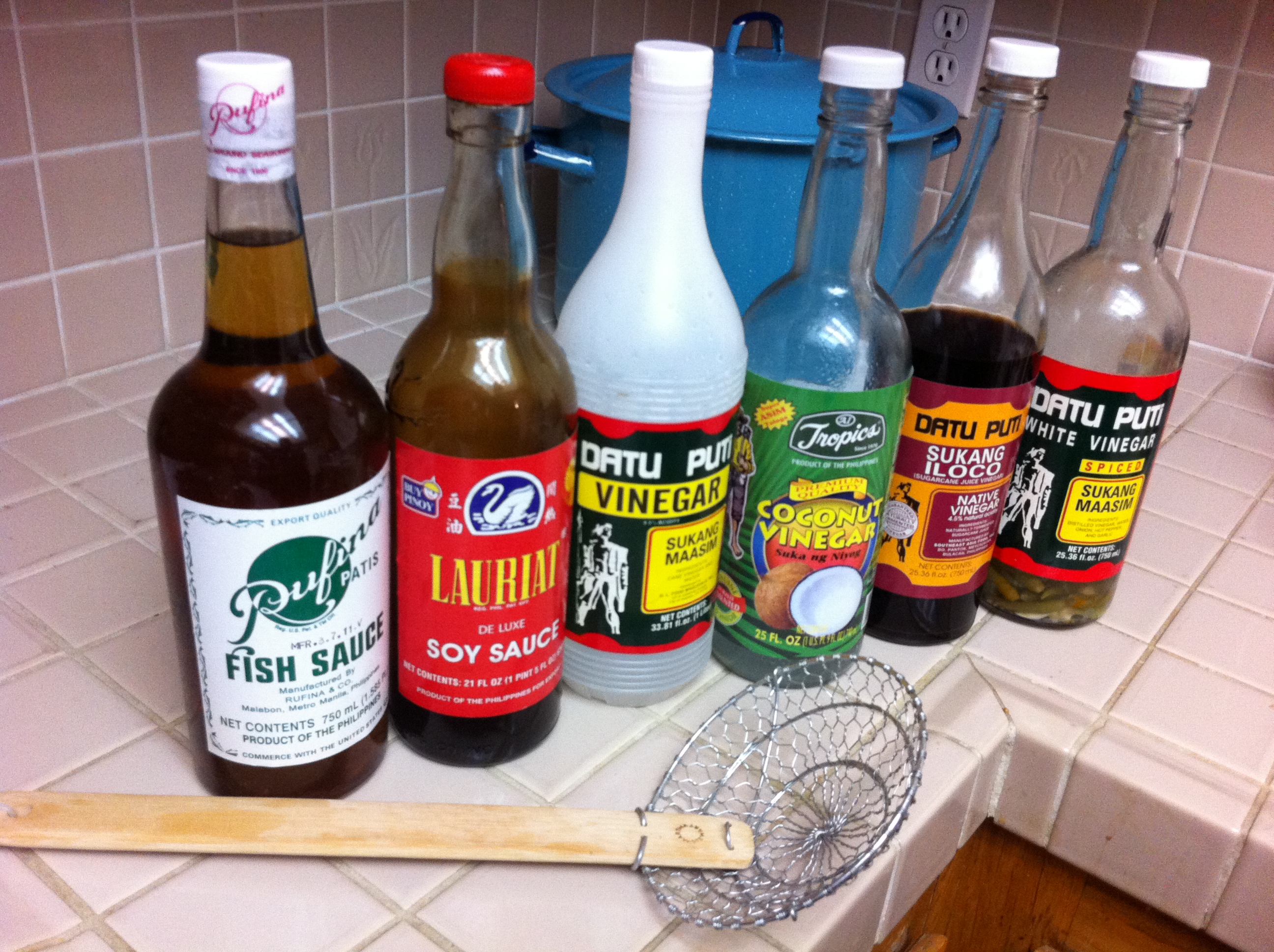 What's in a Pinoy Pantry? - Filipino Recipe Reviews